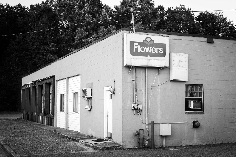 Closed Flowers Bakery, 2017, Fredericksburg, Virginia