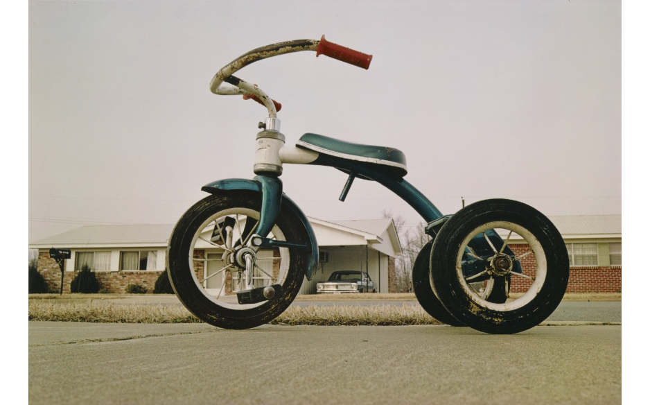 Untitled, Tricycle by William Eggleston