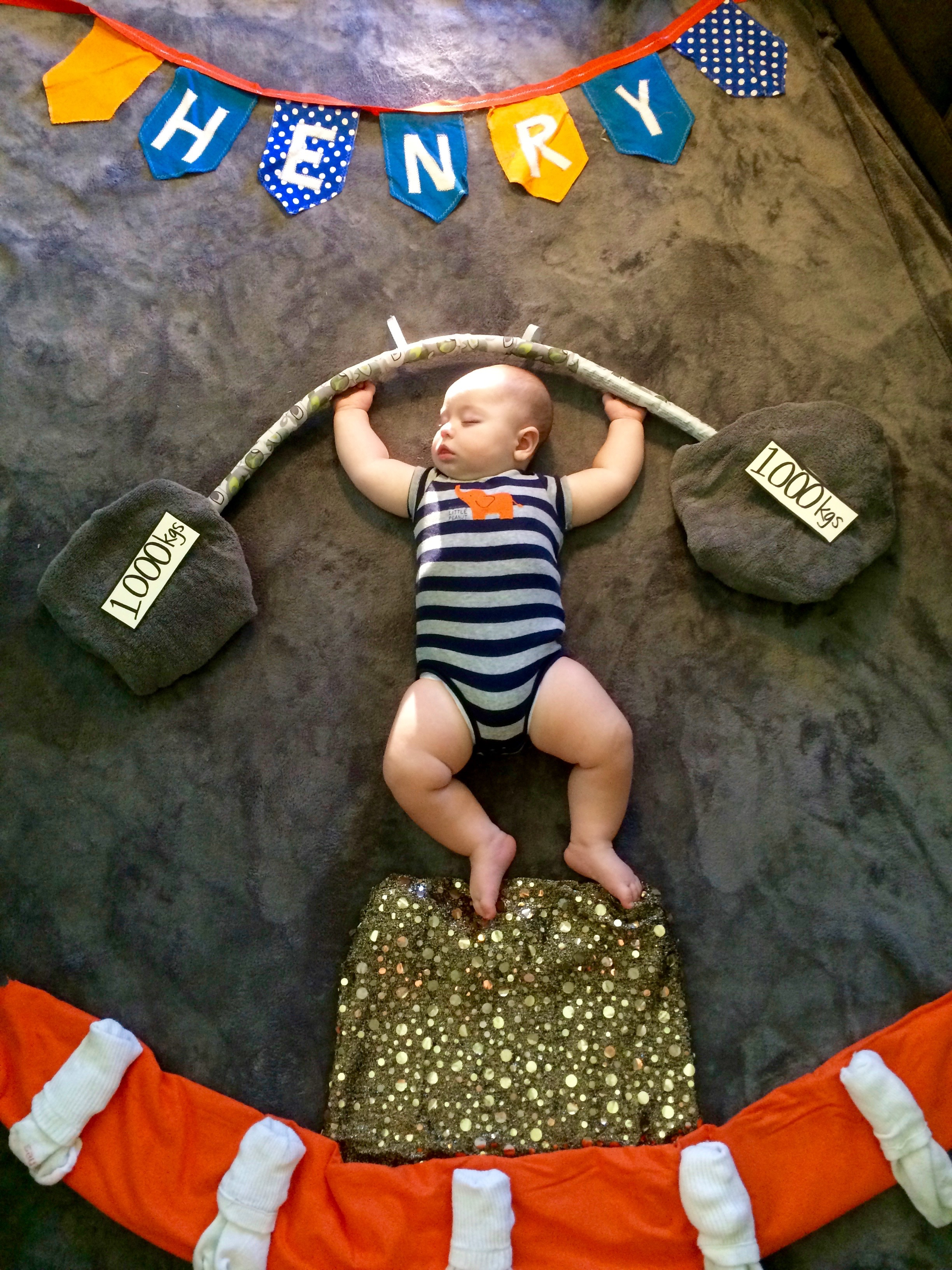 Henry the Strongman!
