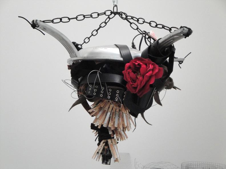 Bull Rose Chandelier