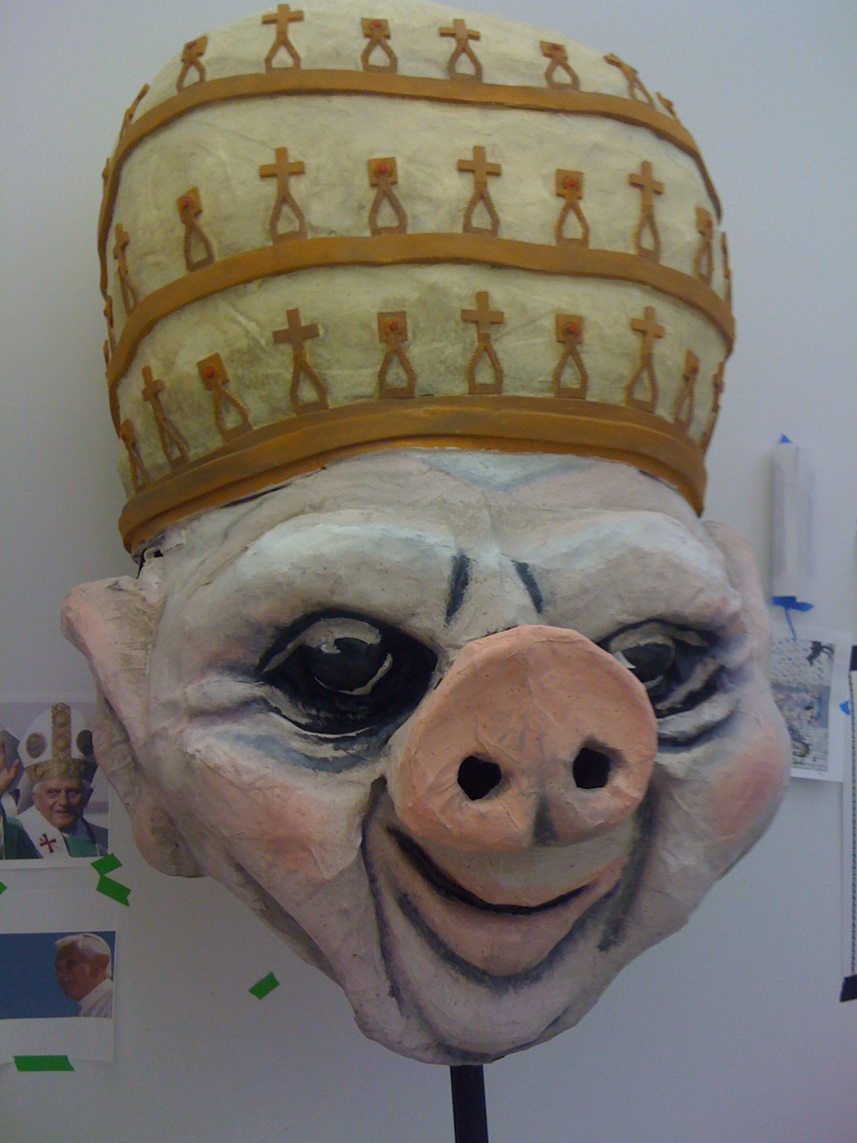 Pig Nosed Pope