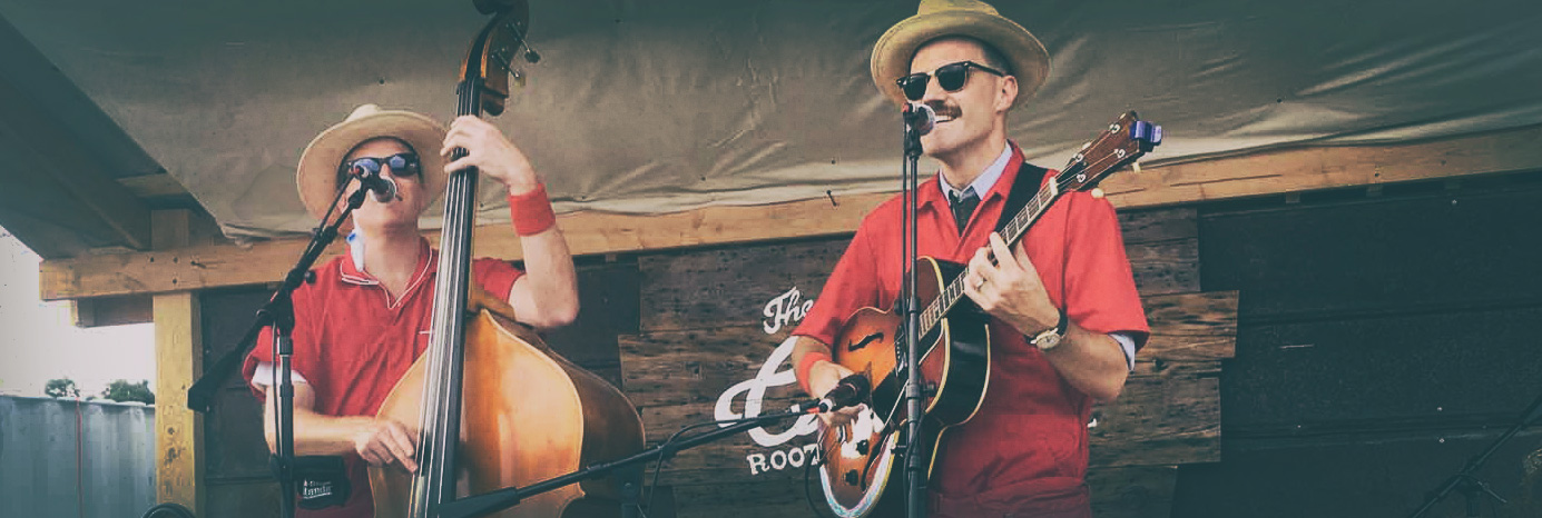 Two Man Gentleman Band killing it at Oldtone '16