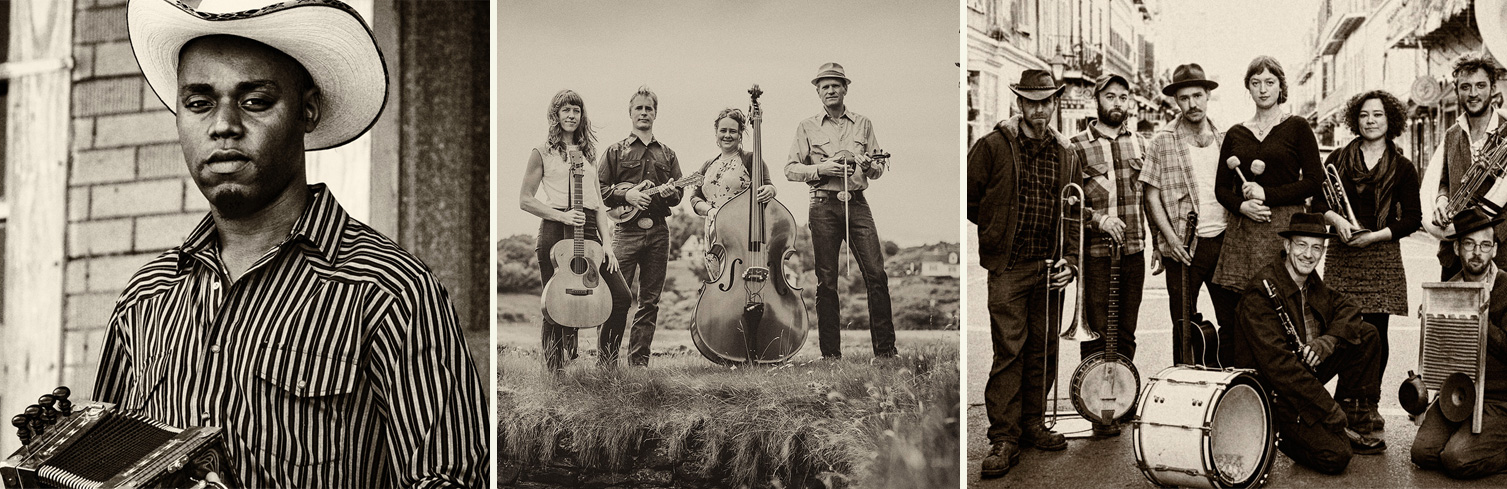 Cedric Watson, Foghorn Stringband & Tuba Skinny  will be at Oldtone this year!