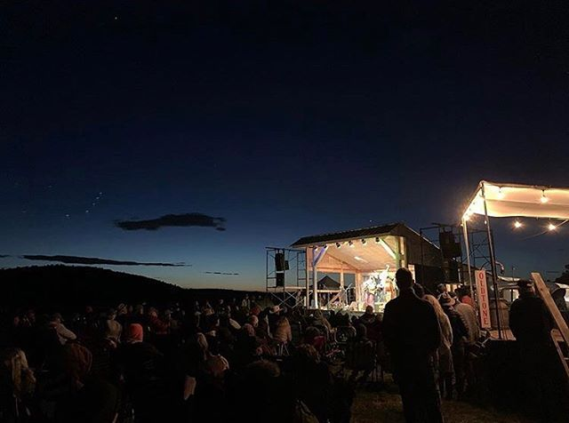 The #Oldtone main stage at night is just ✨🔥👌💖 Thanks for the killer shot @_hunterbrown_ 👏  #oldtonerootsmusicfestival #oldtonemusicfestival