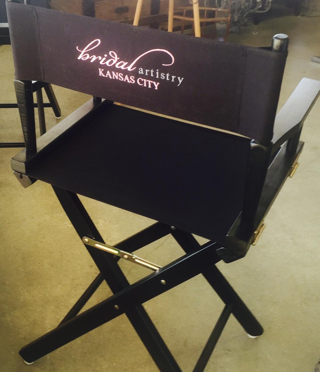 Bridal Artistry Kansas City Makeup Chair