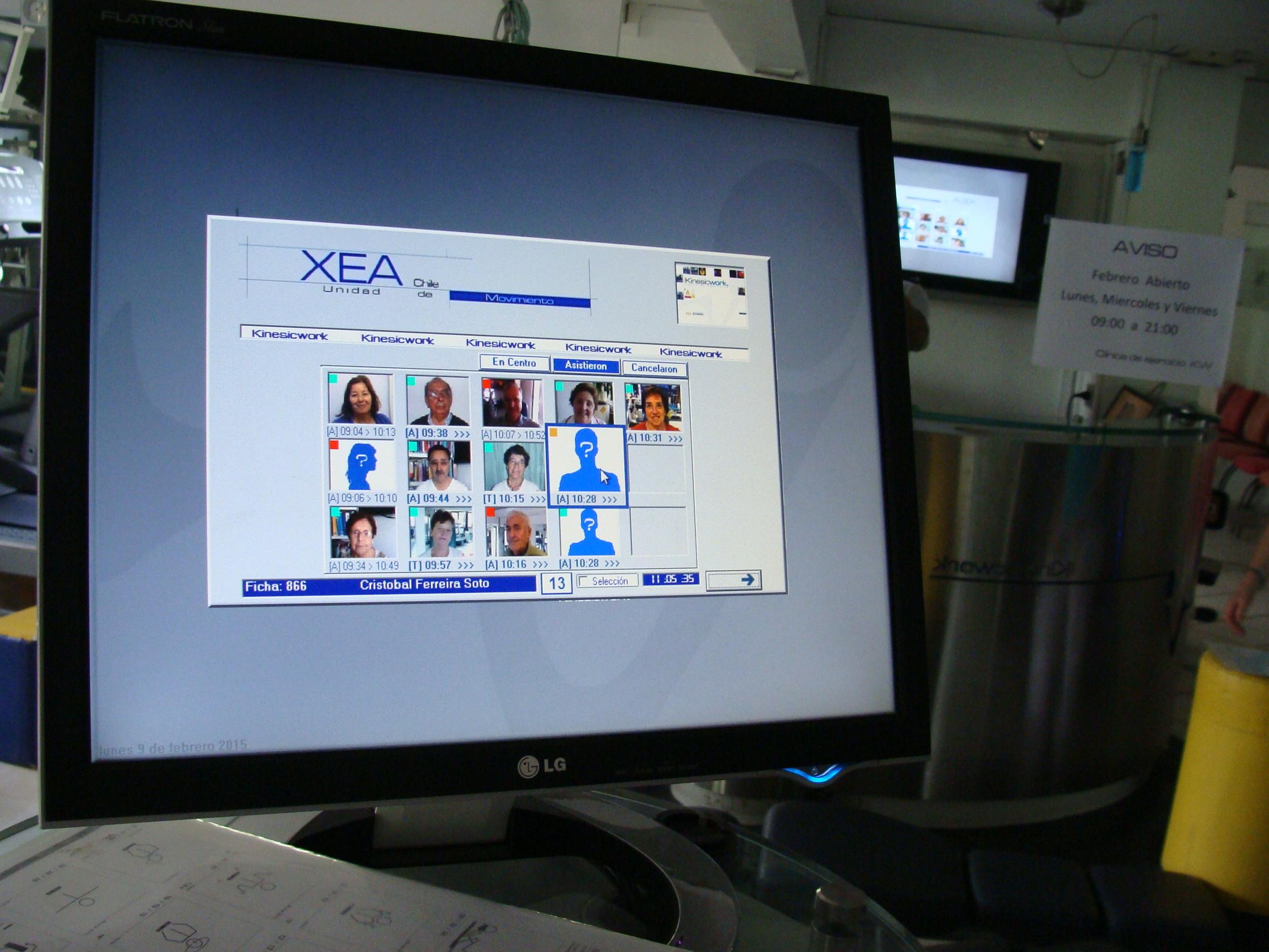 kinesiologia -  metodo xea  - pacientes - la reina.JPG