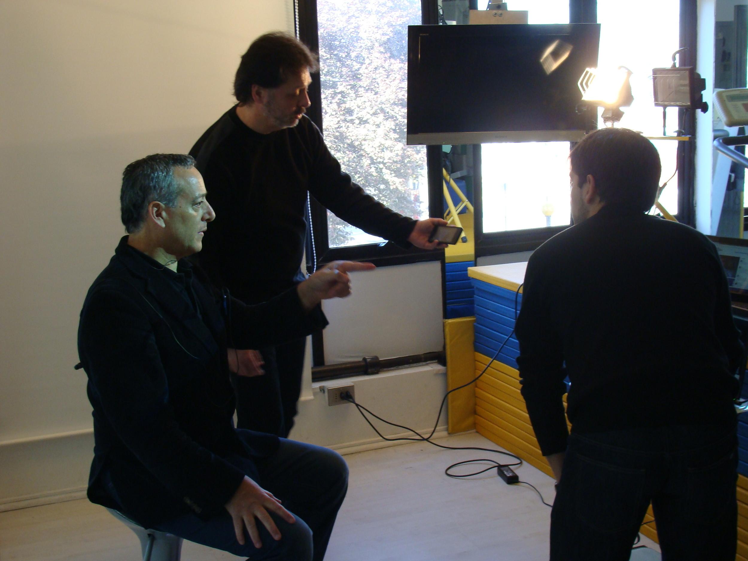 kinesiologos- charla internacional - kinesic work - sergio zuñiga marcelo guerrero carlos espinoza.JPG