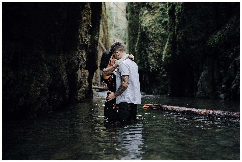Portland Oneonta Gorge Wedding Photography