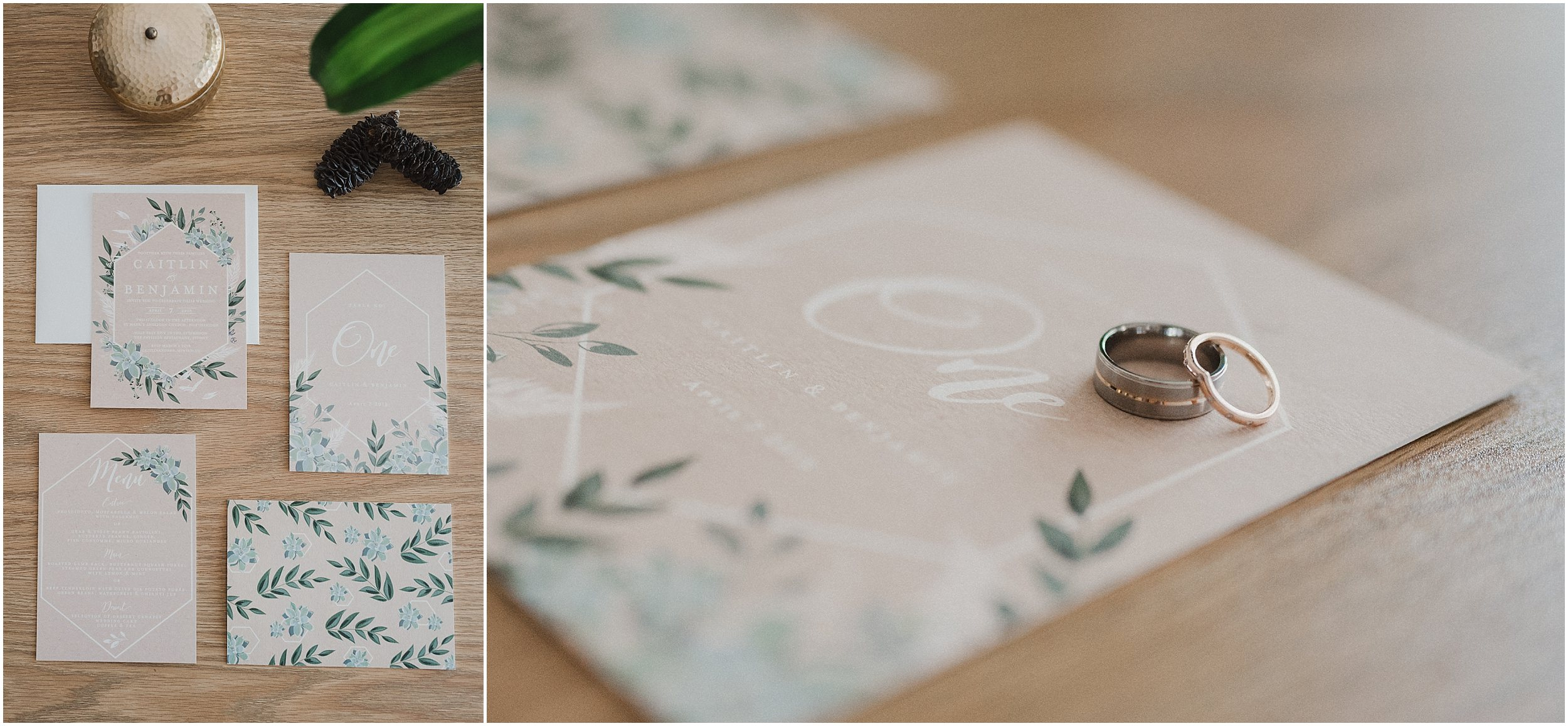 Sydney Wedding - Wedding Invitations