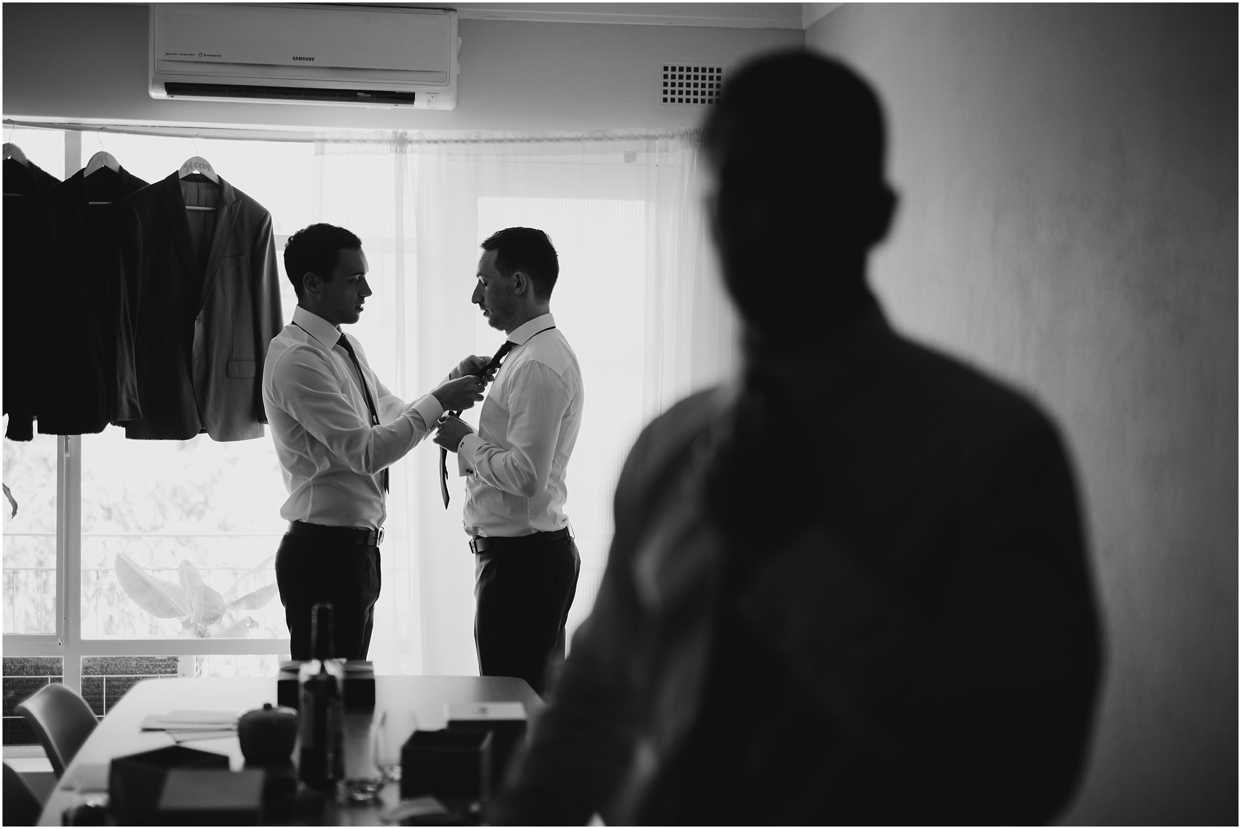 Sydney Wedding - Groom Prep