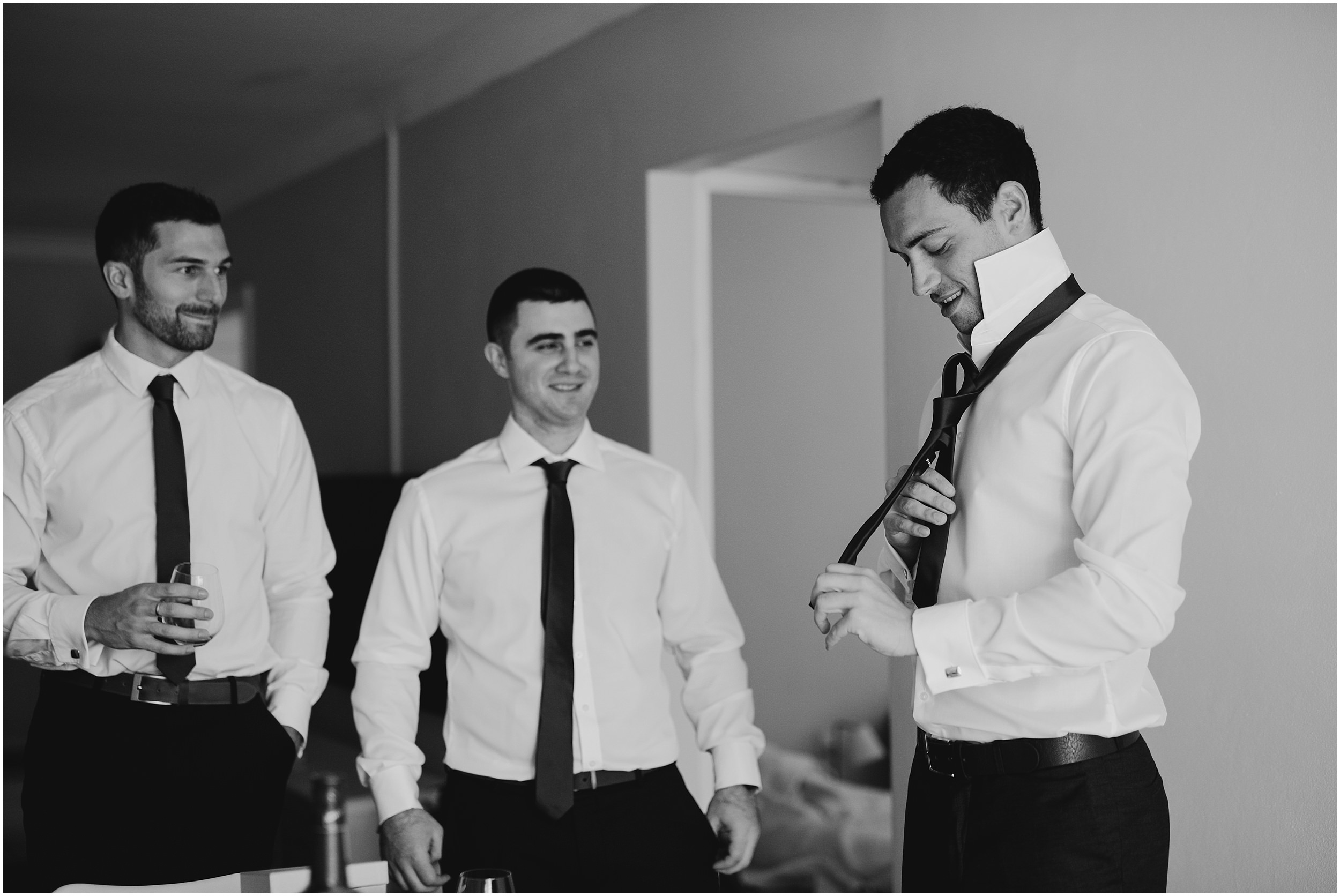 Sydney Wedding - Groomsmen