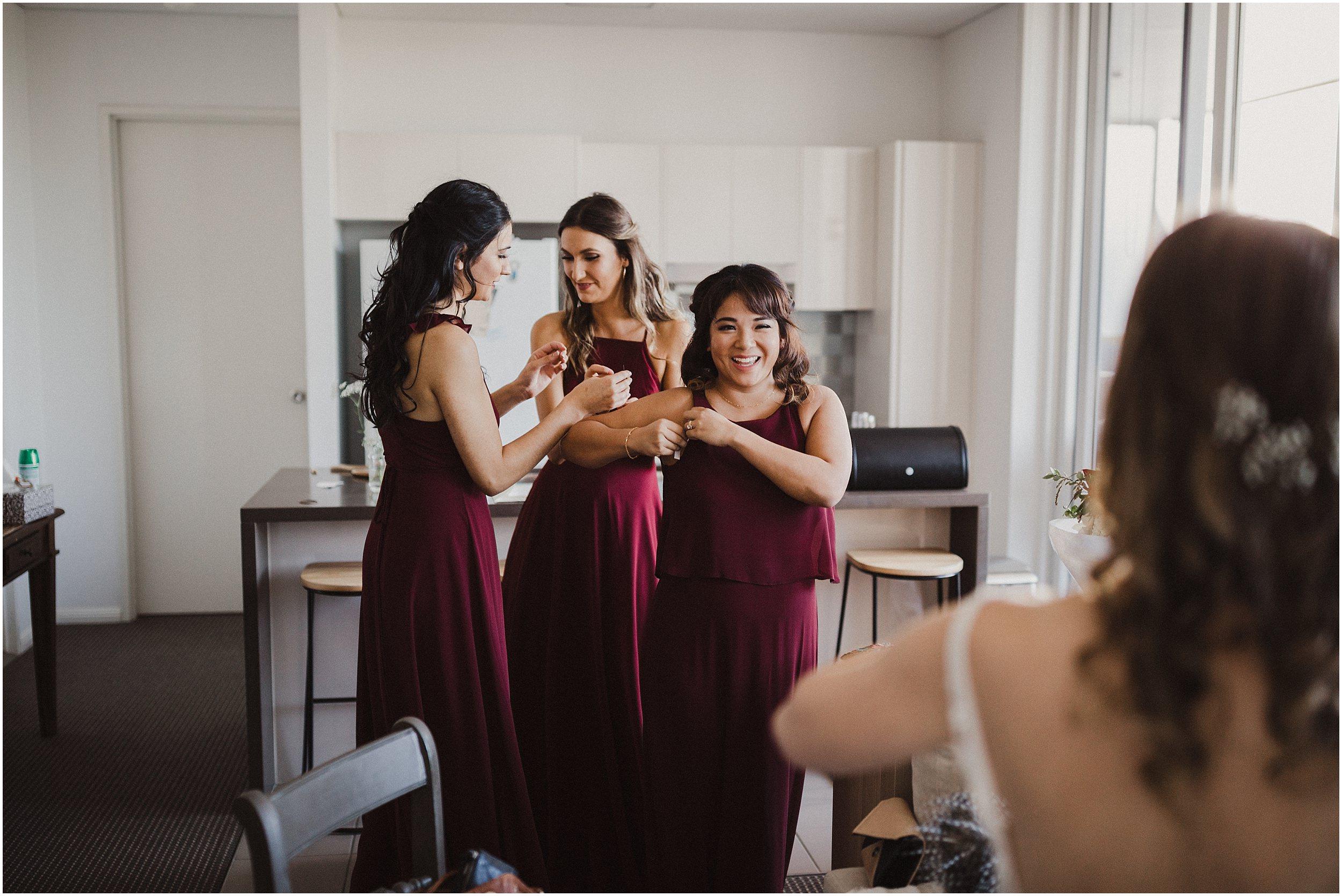 Sydney Wedding - Bride getting ready