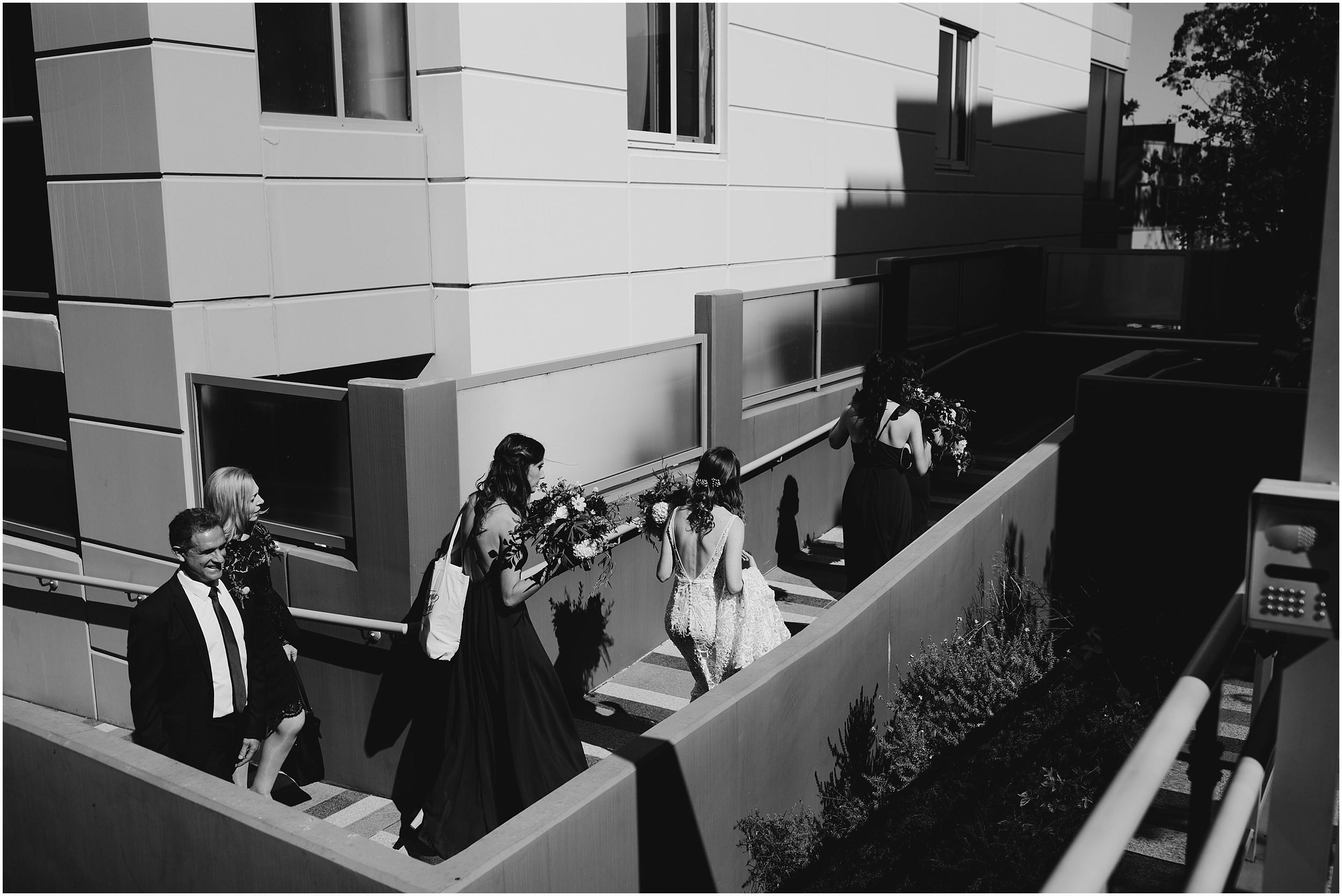 Sydney Wedding Bride Leaving for Church
