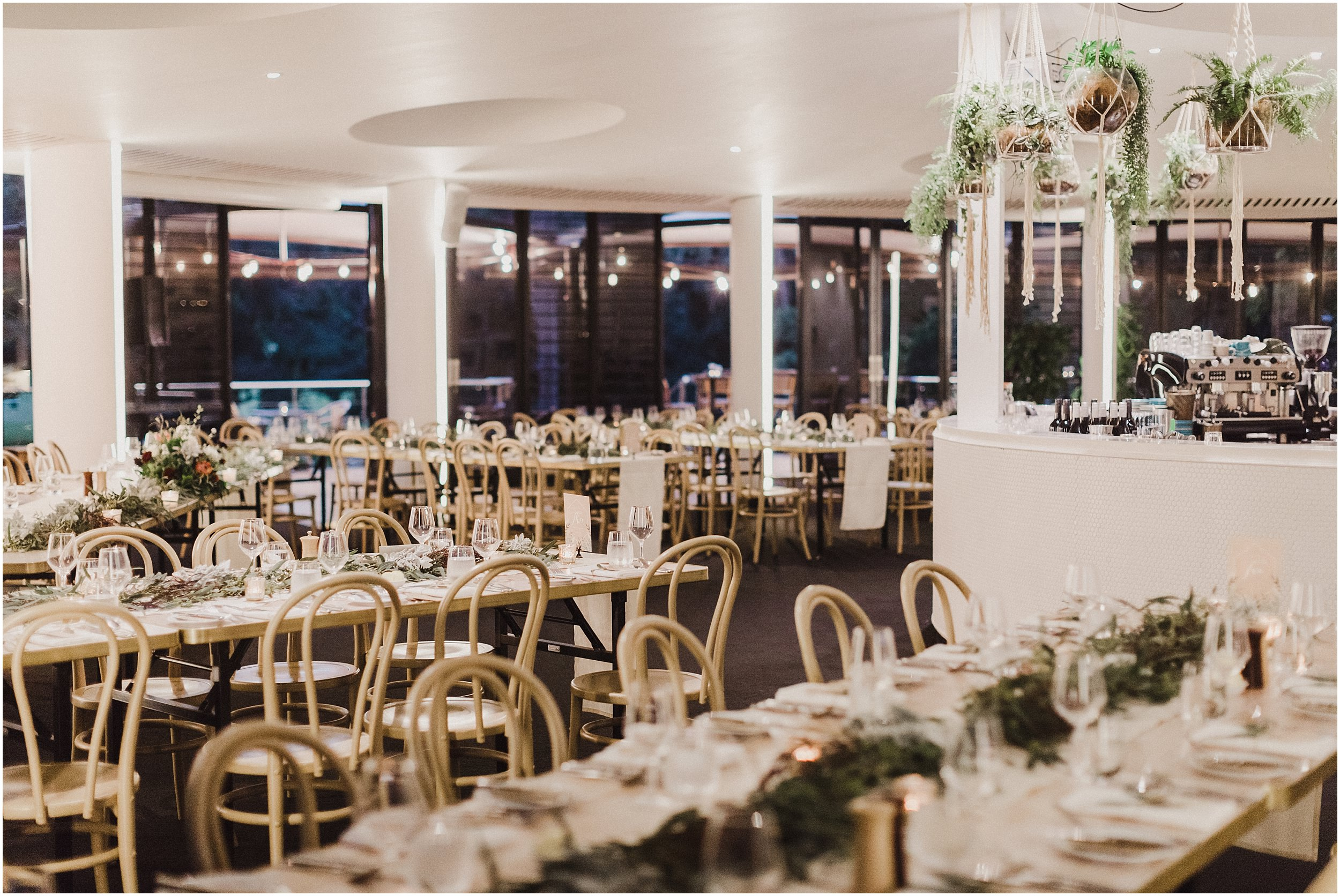 Pavilion Restaurant Sydney Wedding Reception
