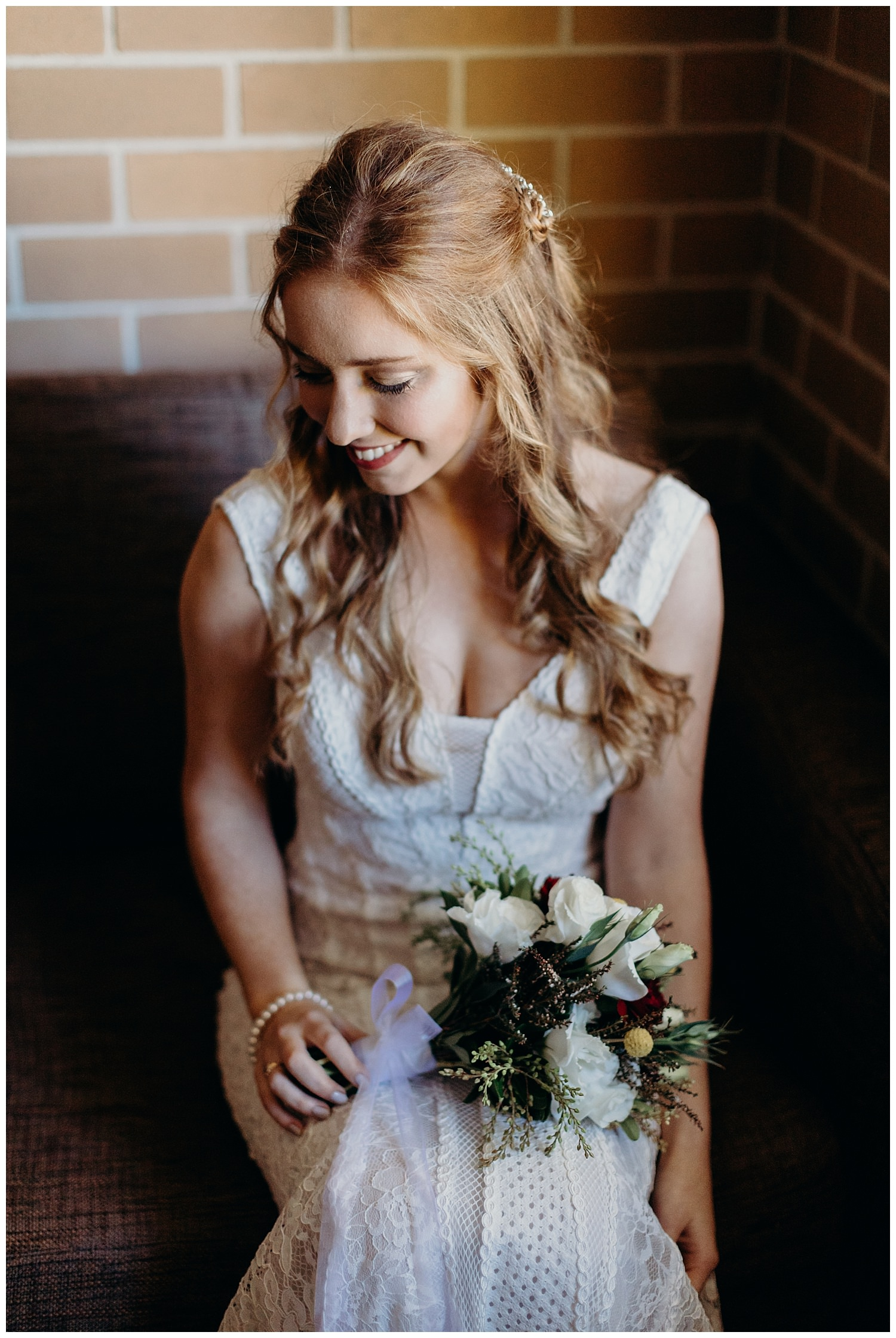 Bowral Southern Highlands Autumn Wedding - Bride Portrait
