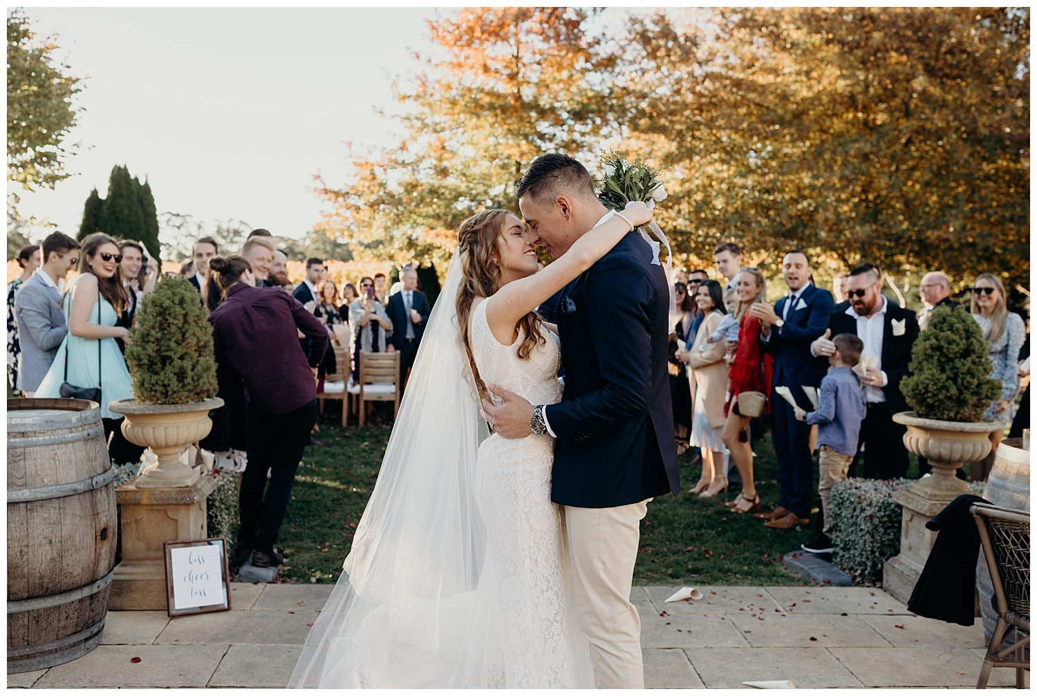 Bowral Southern Highlands Autumn Wedding - Centennial Vineyards