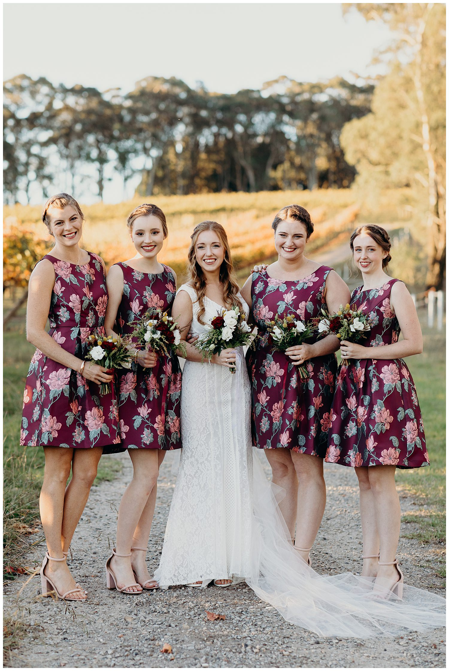 Bowral Southern Highlands Autumn Wedding - Mon Cheri Brides dress
