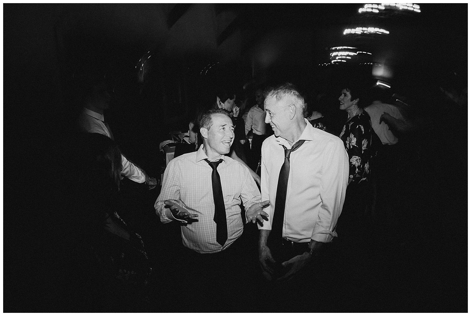 Bowral Southern Highlands Autumn Wedding - Guests candid on dance floor