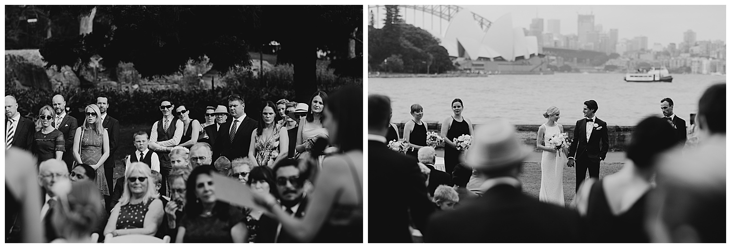 Candid wedding photography at the Royal Botanic Gardens Sydney