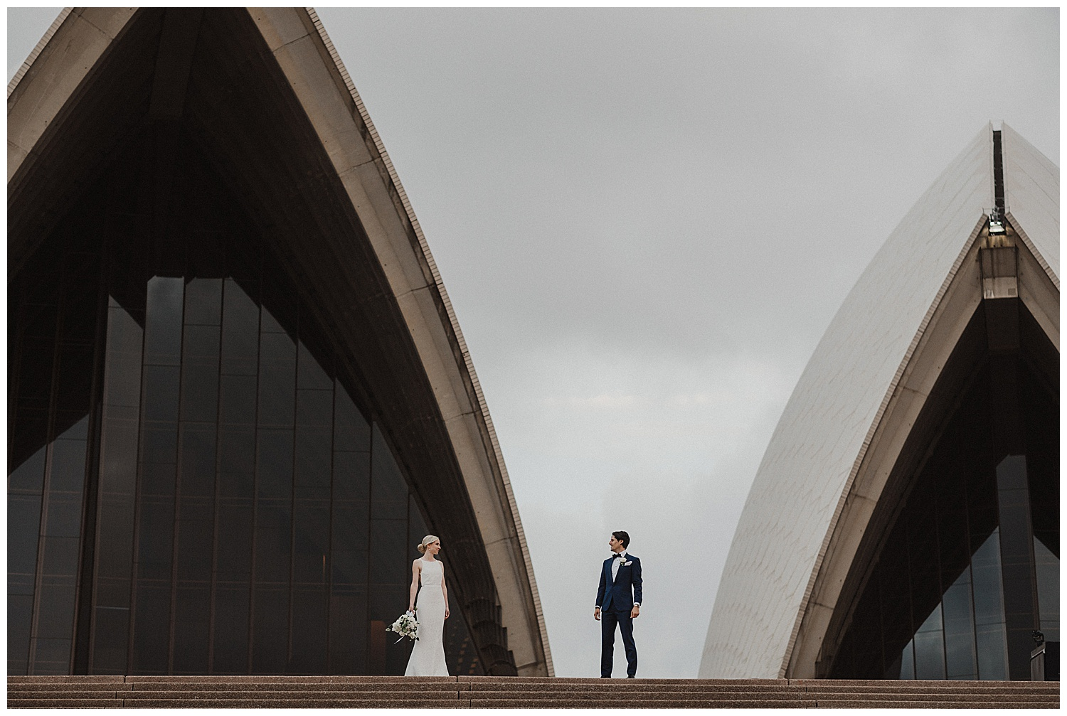 Iconic Wedding Photography at the Sydney Opera House