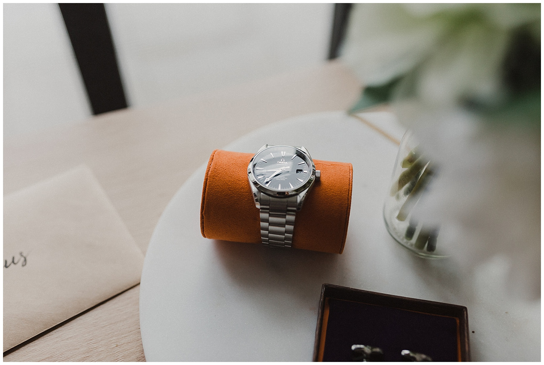 Sydney Groom's watch and details