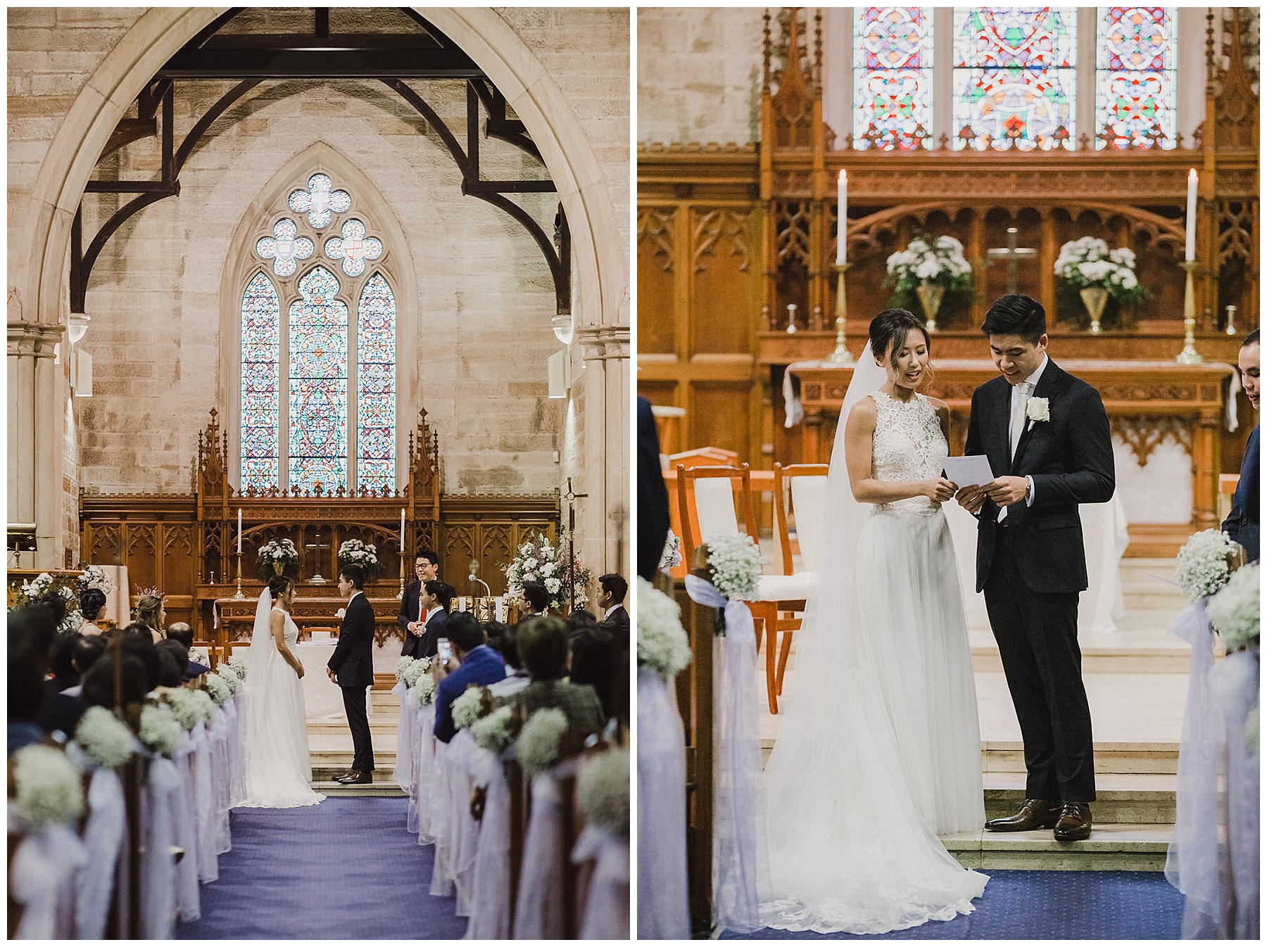 Sydney Bride and Groom at their ceremony