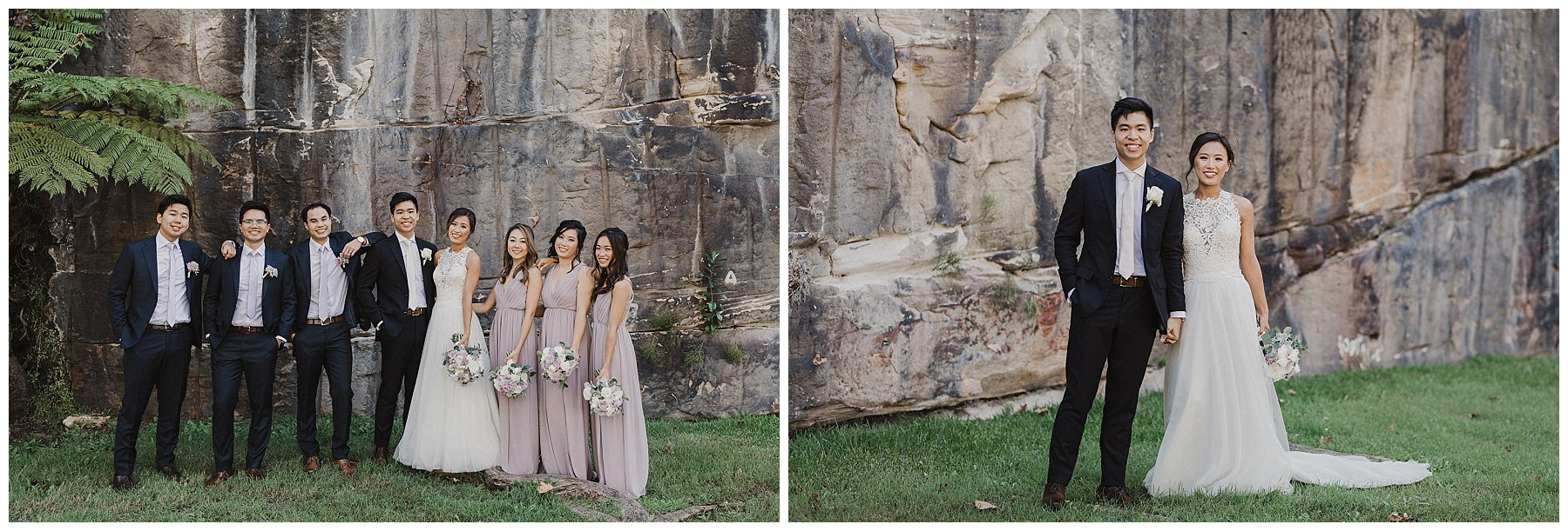 Sydney Bride and Groom and their wedding party
