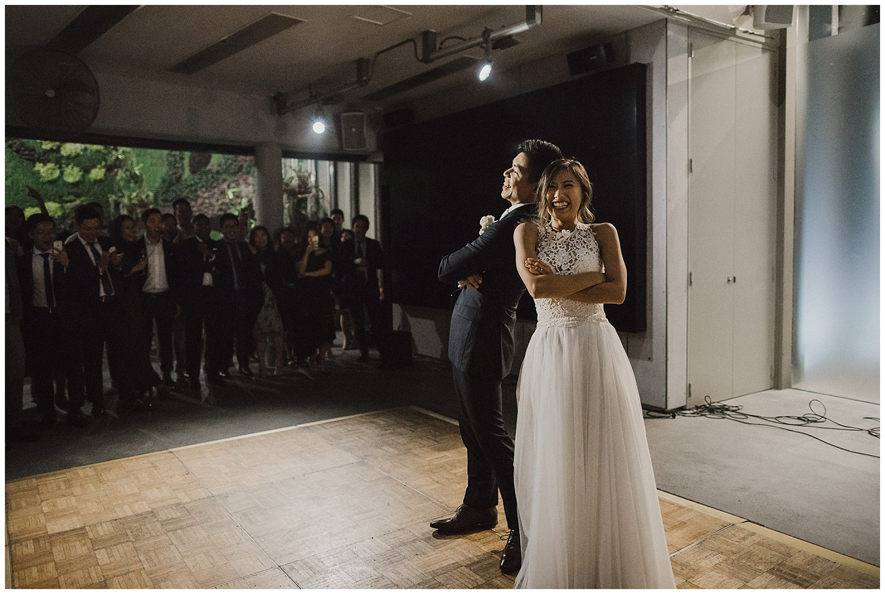 Sydney Bride and Groom first dance