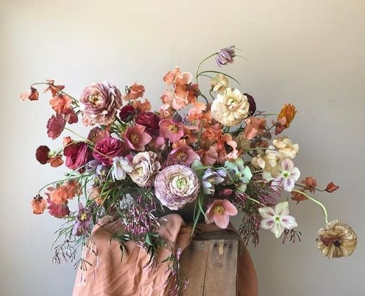 Spring arrangement by Sarah Winward.
