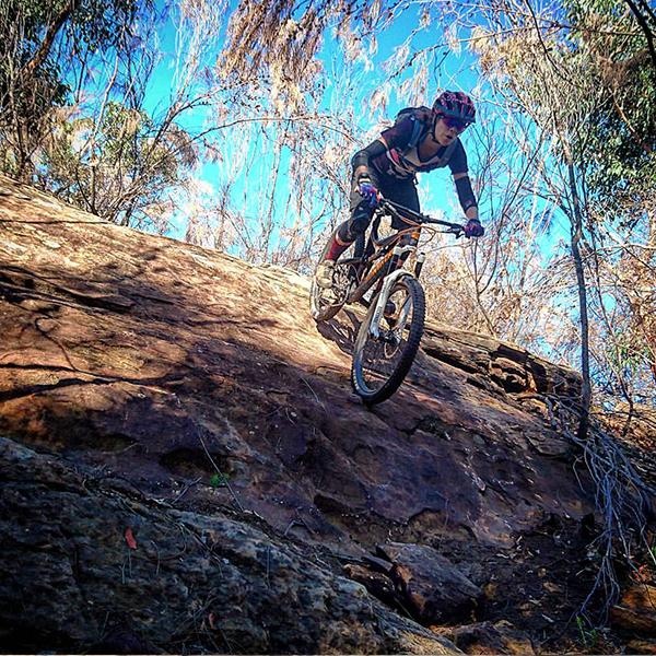 Mel Hayes - Mountain Biker