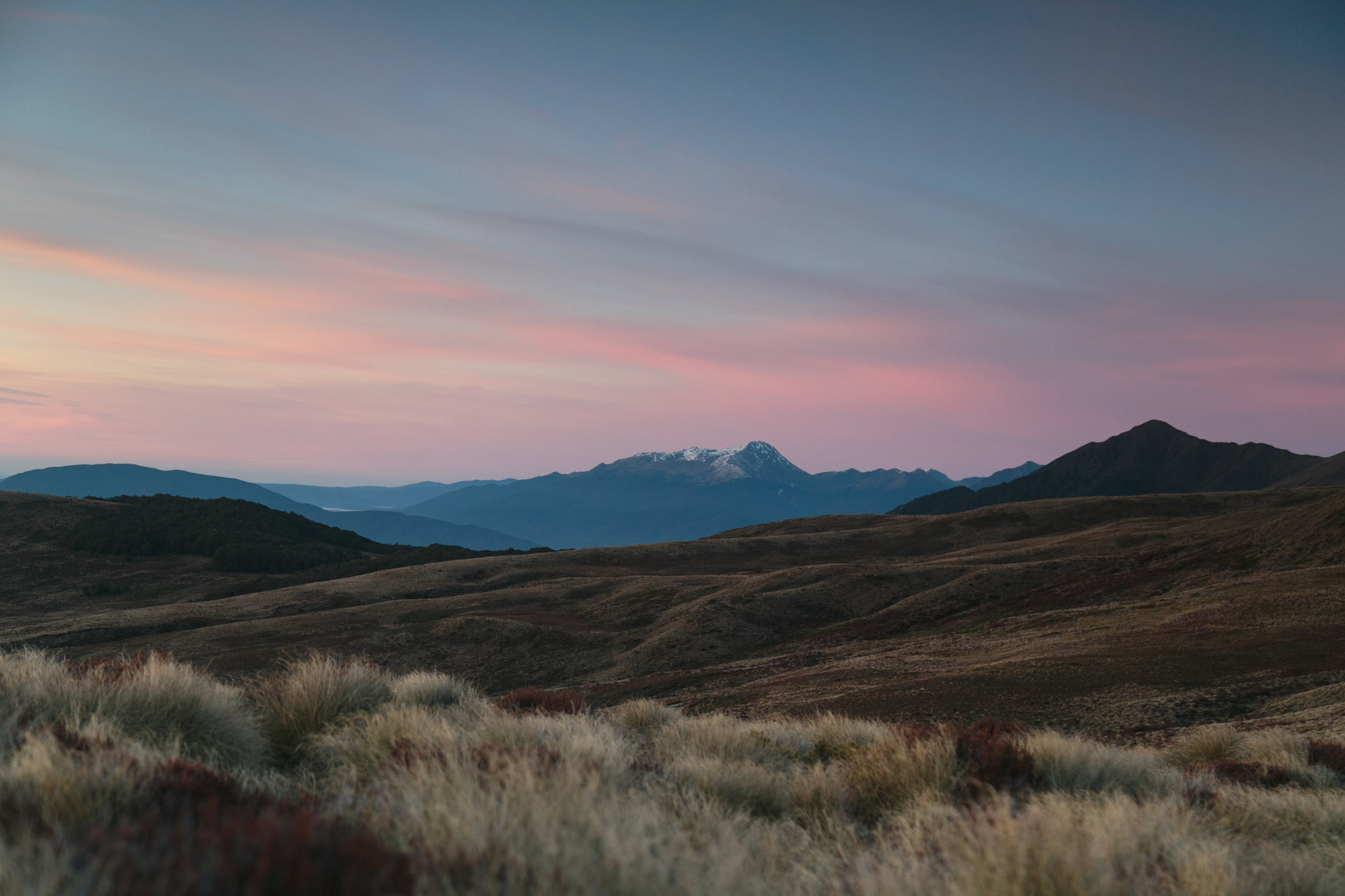 Another photo from sunrise from Luxmore Hut