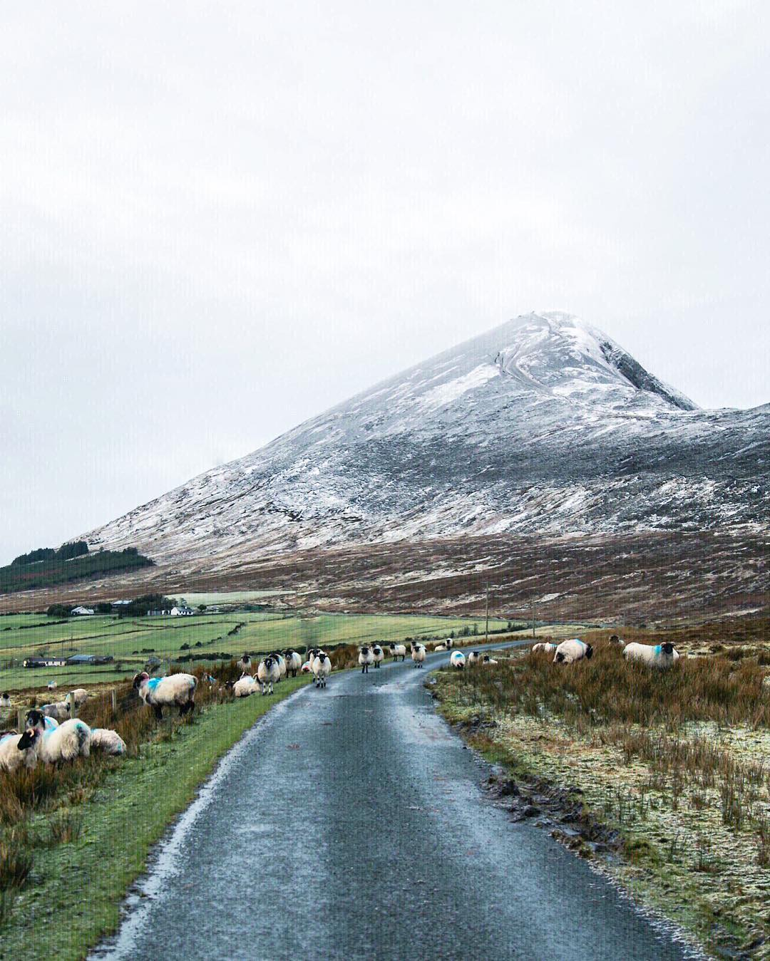 A different side of Croagh Patrick