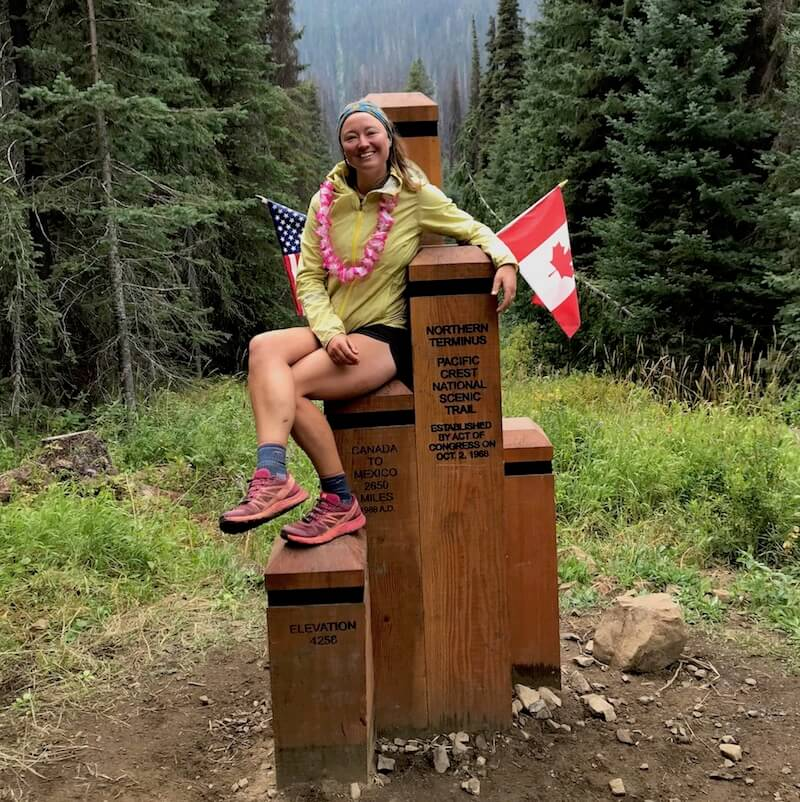 Heather Porter on the Pacific Crest Trail