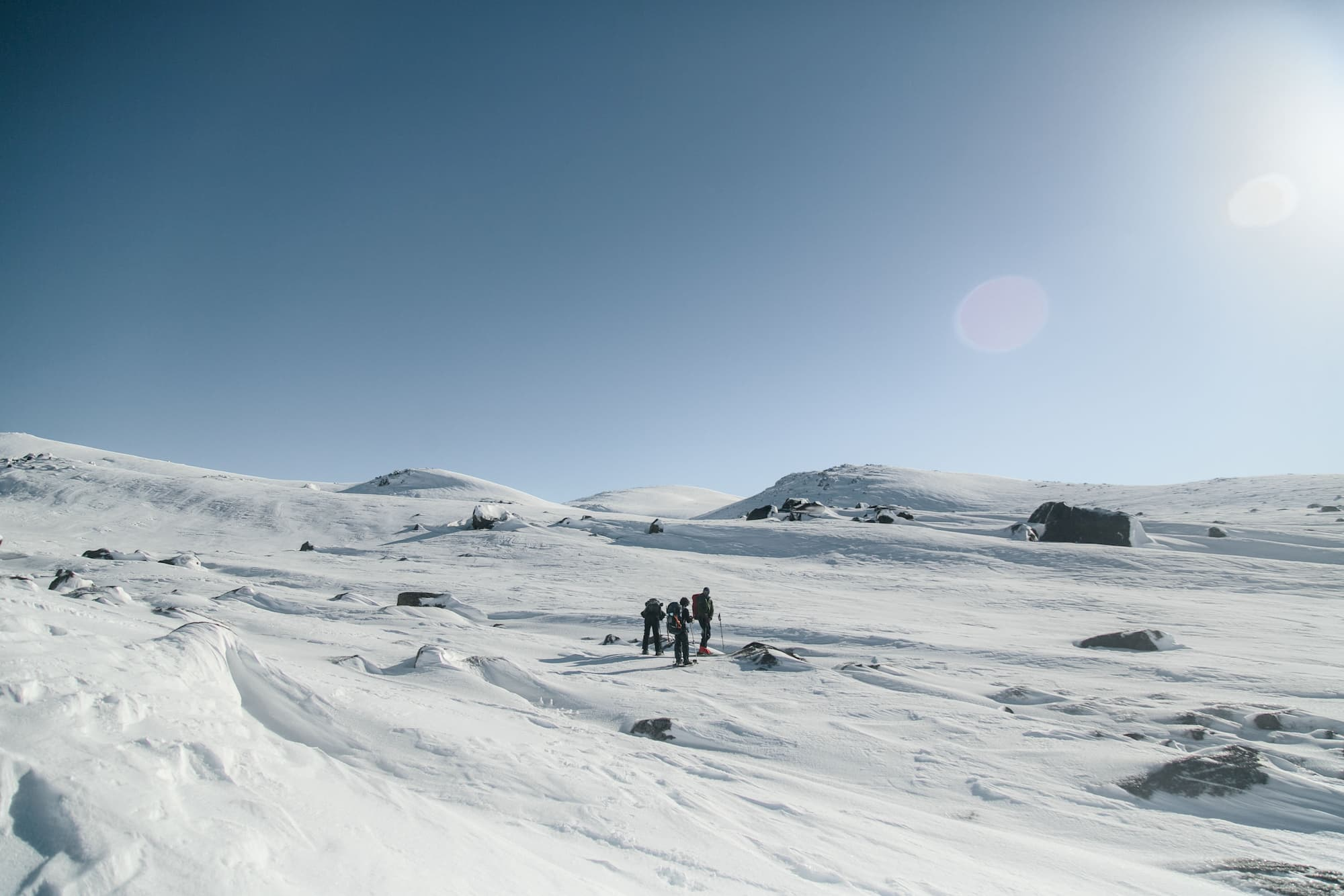Winter ascent of Mount Kosciuszko
