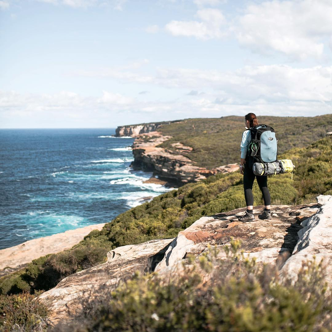 The Coast Track in Australia's Royal National Park