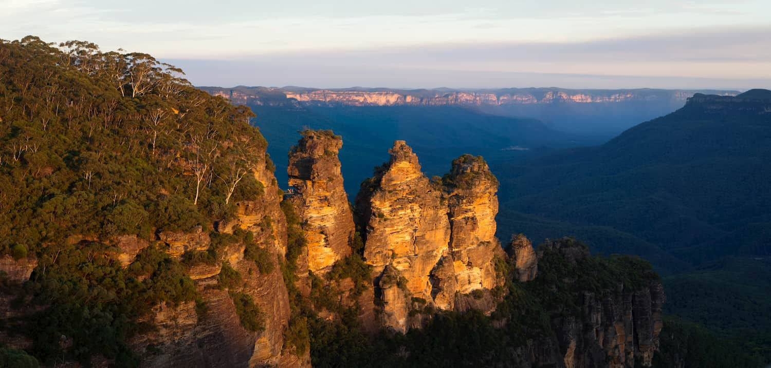 Three Sisters, Blue Mountains National Park. Image Source: Adobe Stock