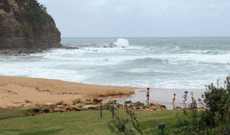 Little Beach, Bouddi National Park. Image Source:  NSW National Parks