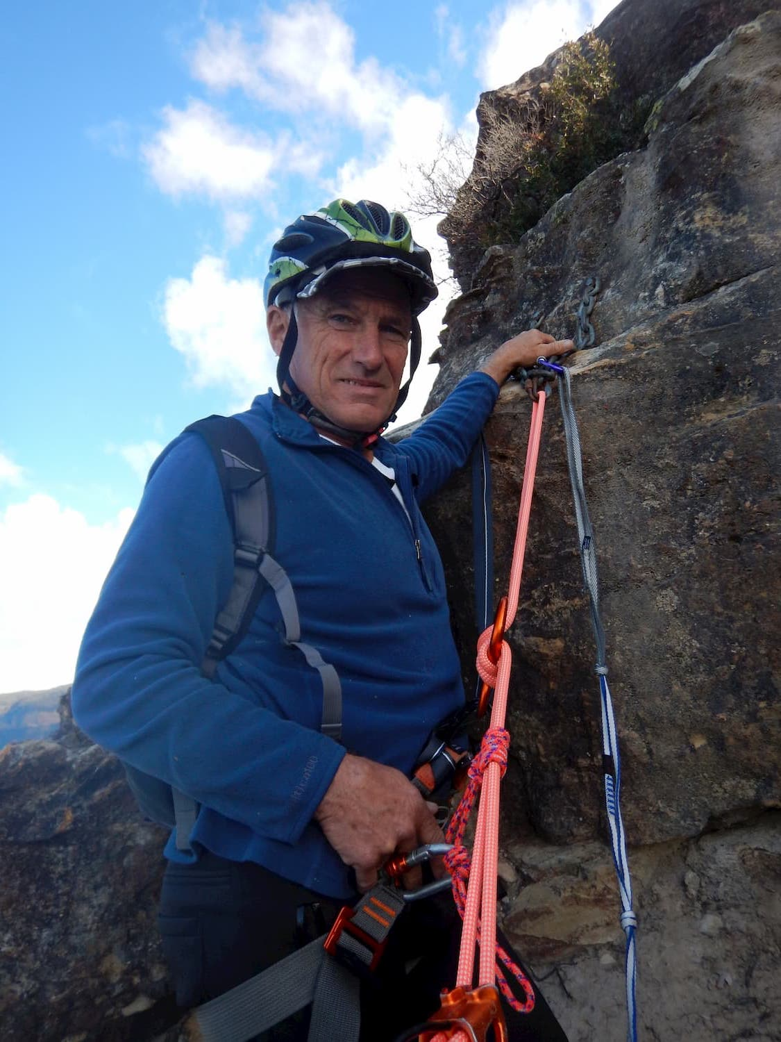Steph's dad Dave about to abseil.jpg