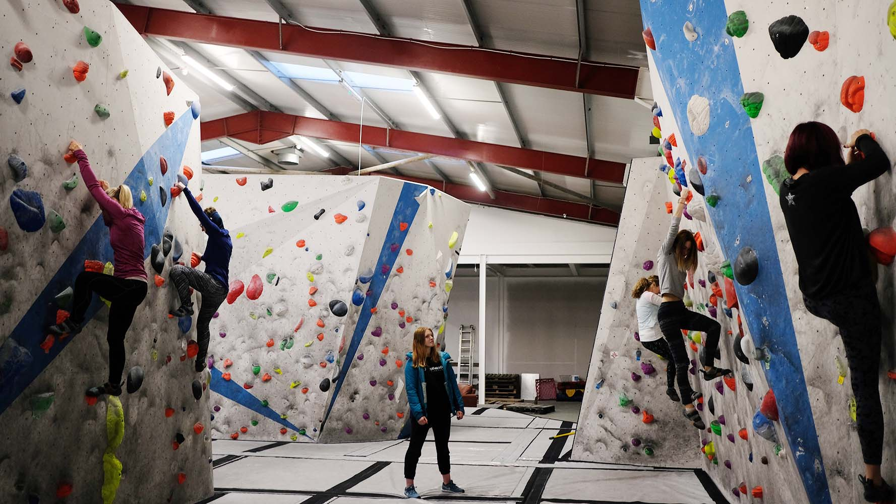 Did you know She Went Wild organise beginner bouldering workshops across Australia and the UK?