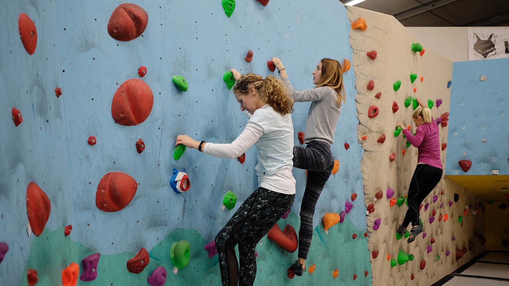 The aim isn't to climb a massive wall; it's more to accomplish specific routes and progress in the grading