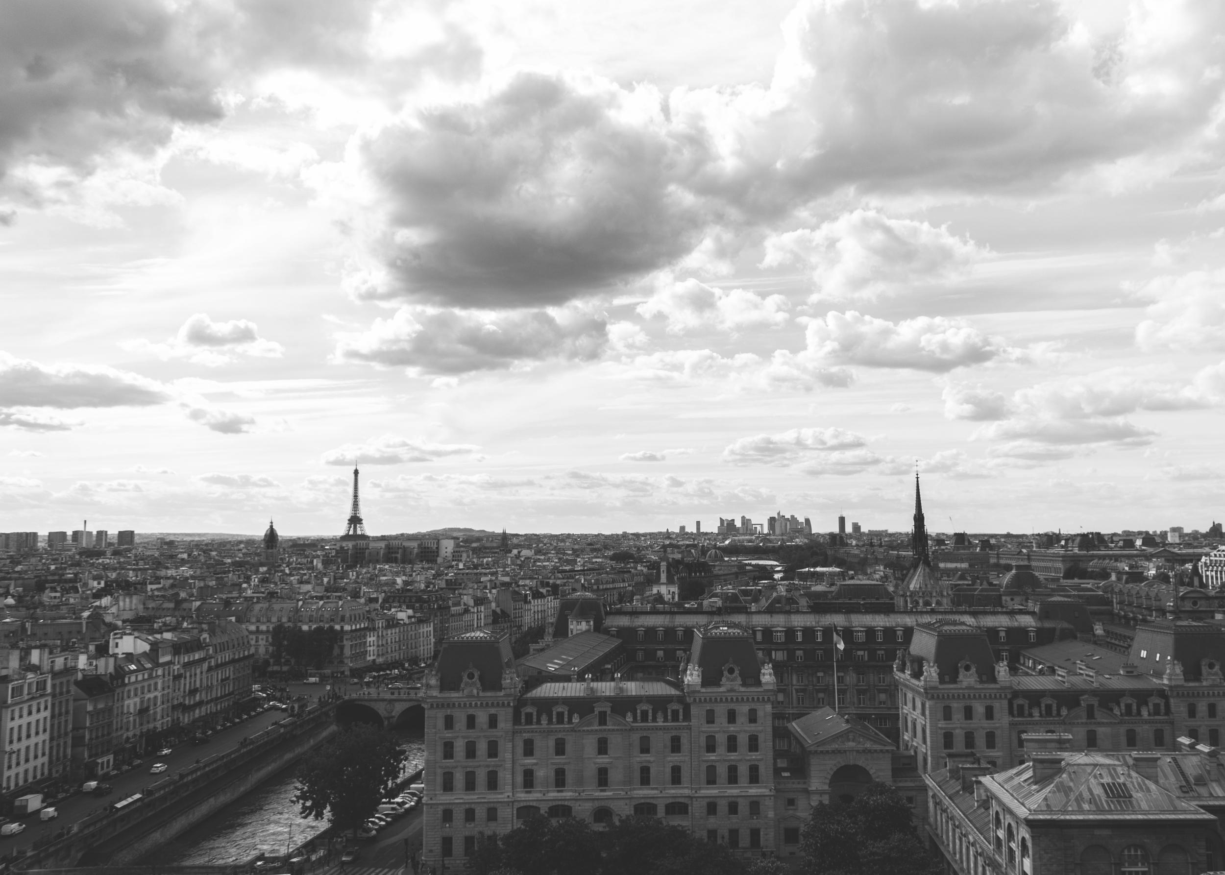 Paris cityscape, taken with iPhone 6Plus