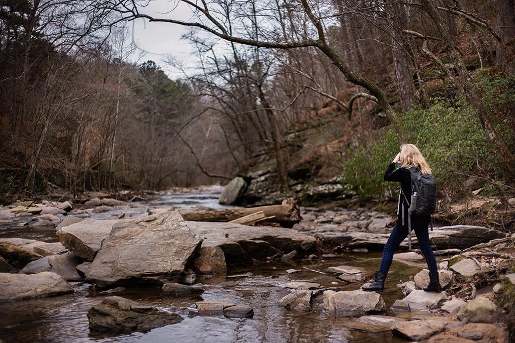 Sope_Creek_in_Marietta_Photoshoot_with_Atlanta_Engagement_Photographer_Chanel_G_Photography_1