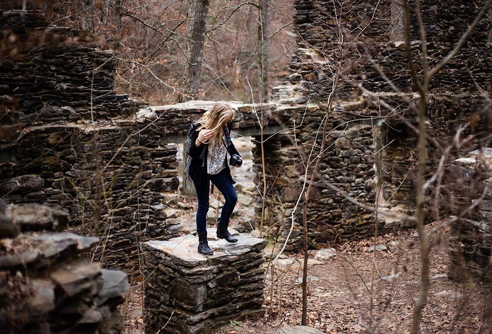 Sope_Creek_in_Marietta_Photoshoot_with_Atlanta_Engagement_Photographer_Chanel_G_Photography_7