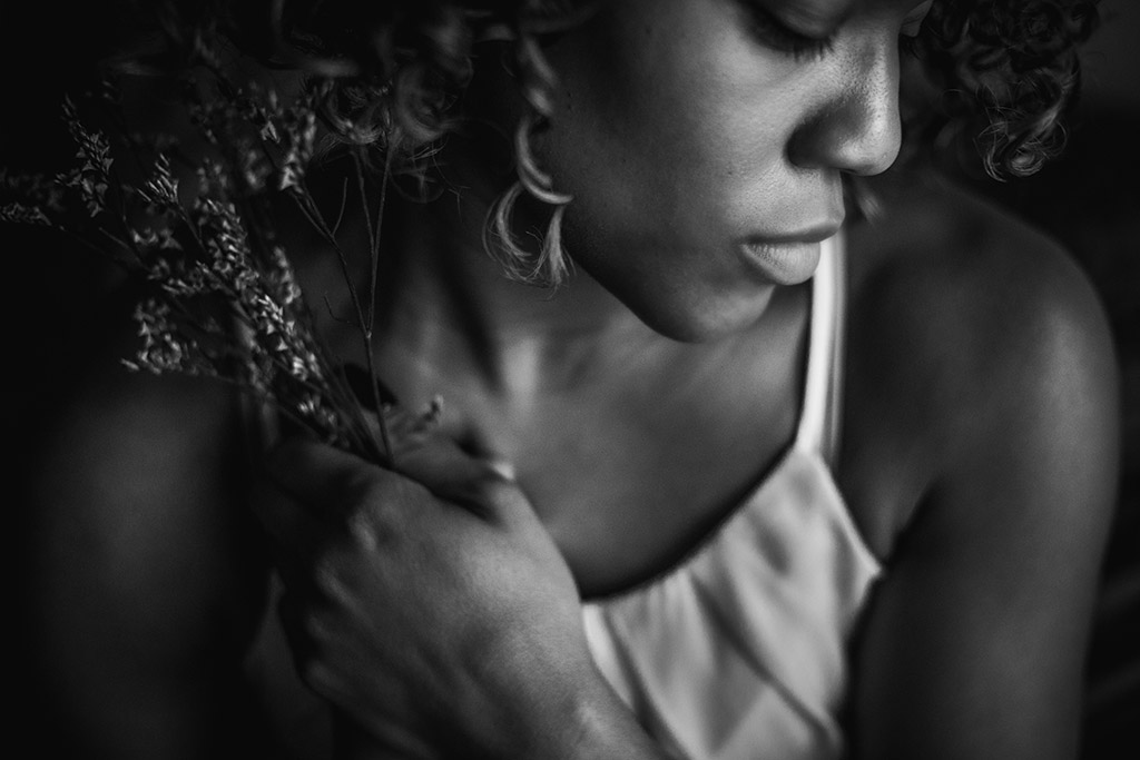 Finding_your_voice_emotive_black_and_white_photograph_by_Atlanta_photographer_and_clickpro_Chanel_French