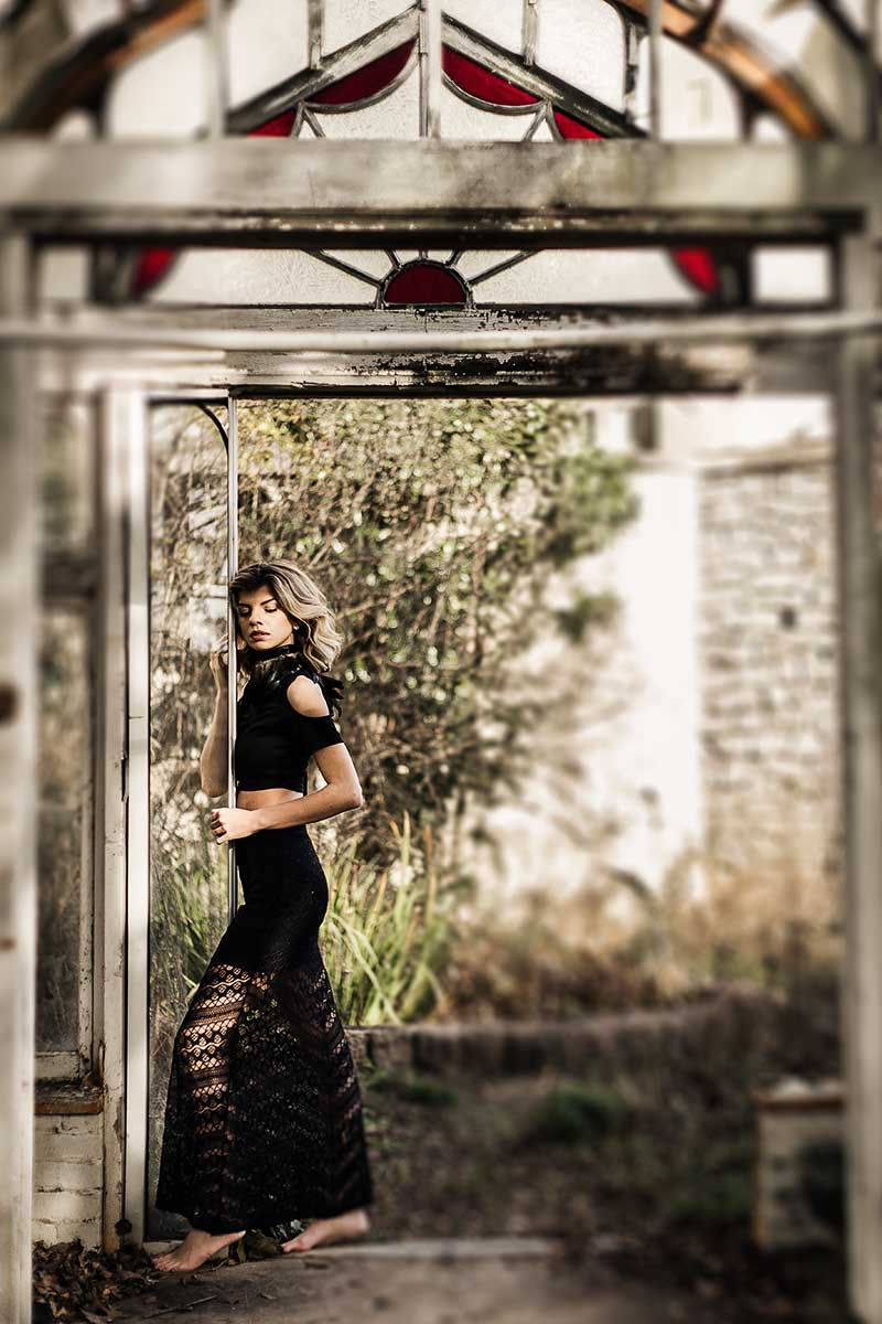 Atlanta-abandoned-greenhouse-with-model-Jenna-Schulz-in-black-lace-skirt-by-photographer-Chanel-French.jpg