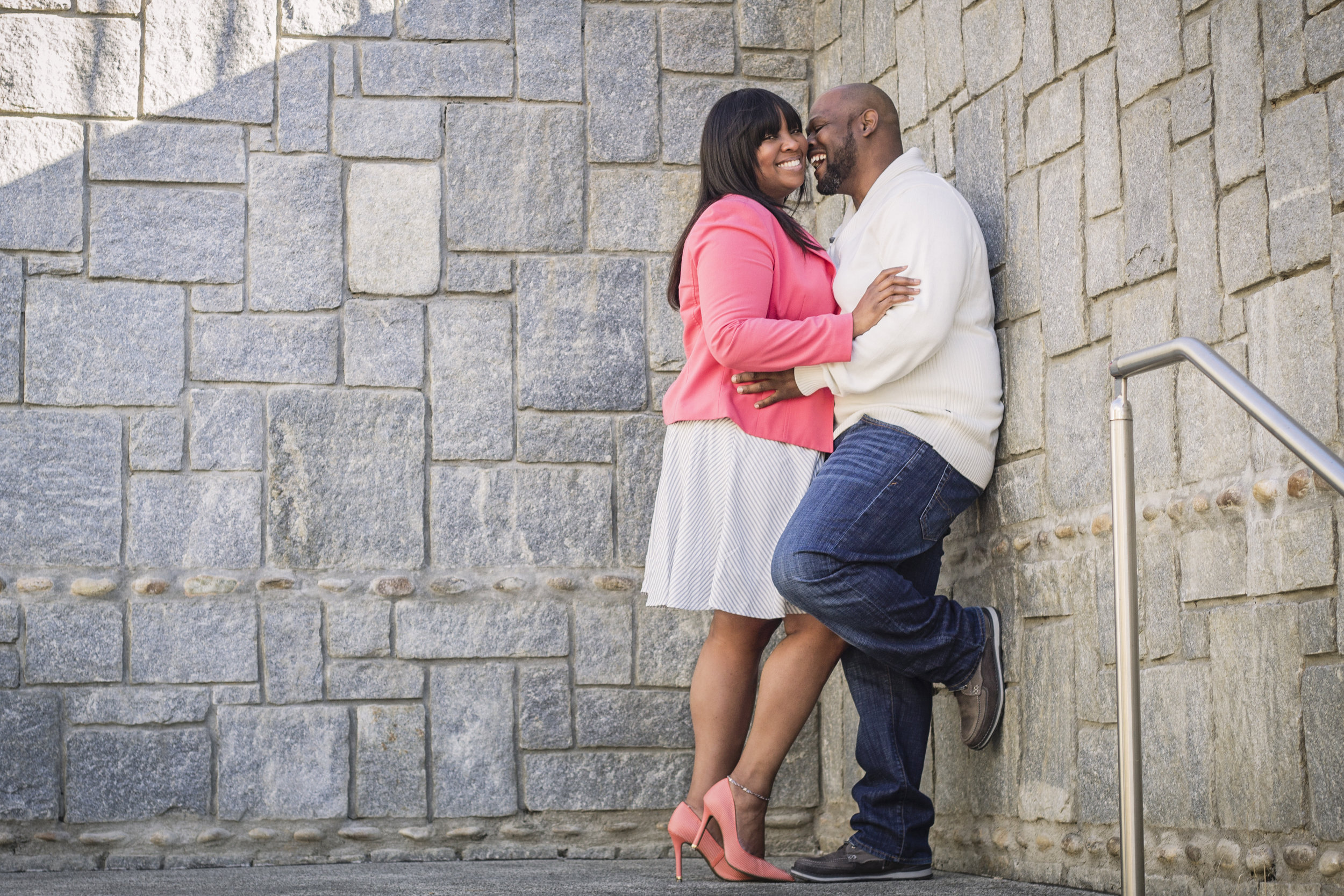 Historic-Fourth-Wark-Park-engagement-session-for-young-black-couple-by-Atlanta-photographer-Chanel-French