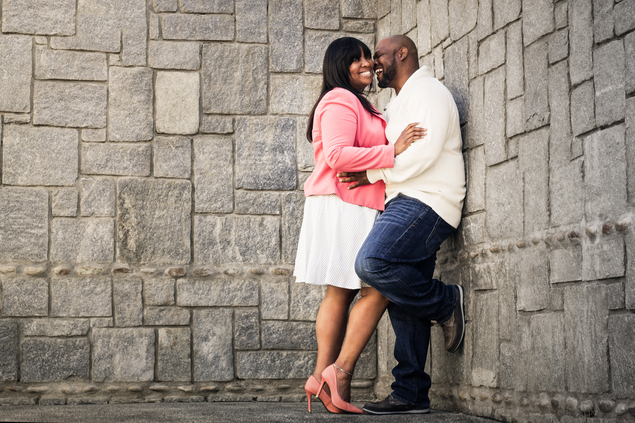 Historic-Fourth-Ward-Park-engagement-photoshoot-with-young-black-couple-by-Atlanta-photographer-Chanel-French