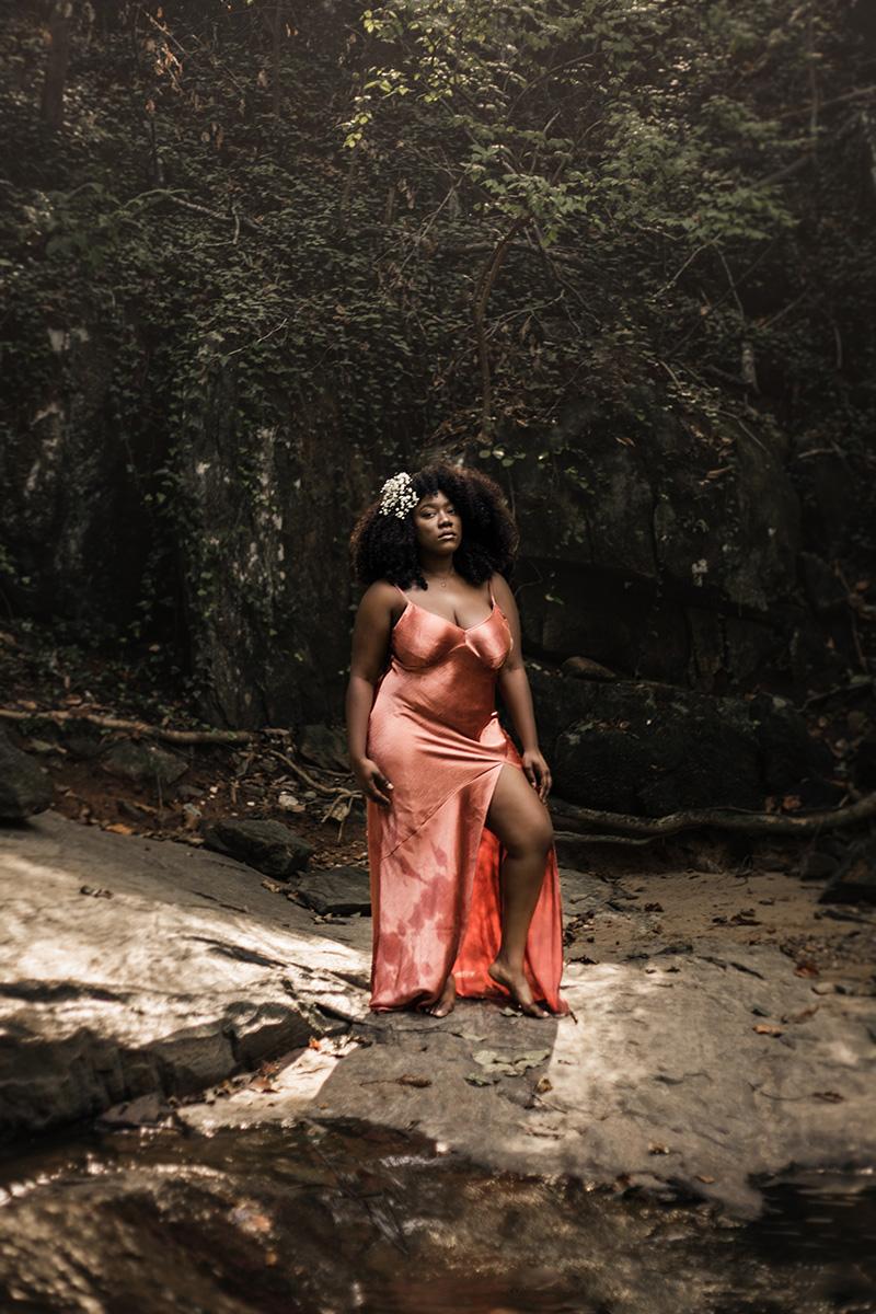 - My pride fell down my bodyLike my silk dress, this is me naked.