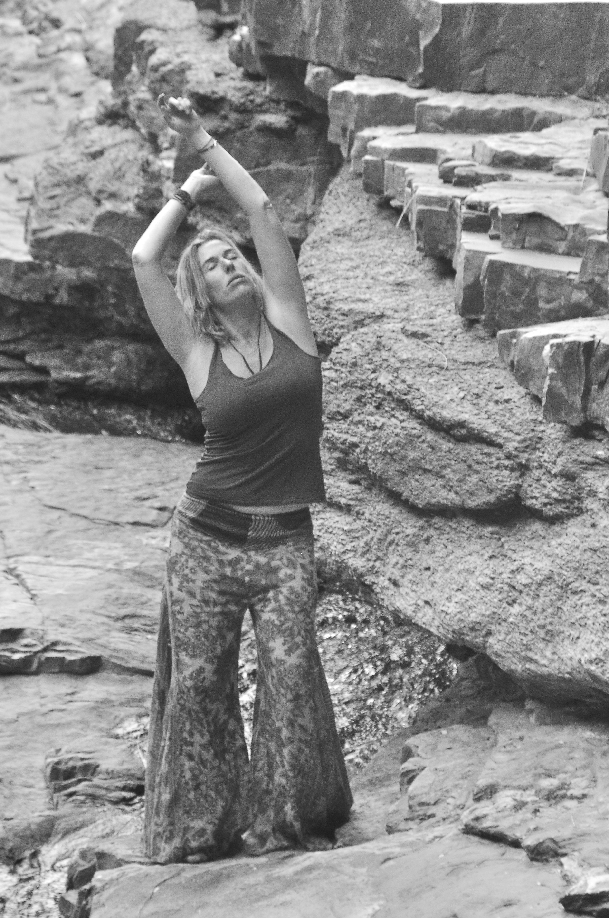 Dancing wherever I can - connecting to nature through is so powerful.