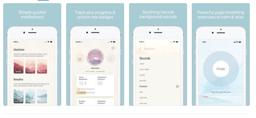 Oak Meditation App